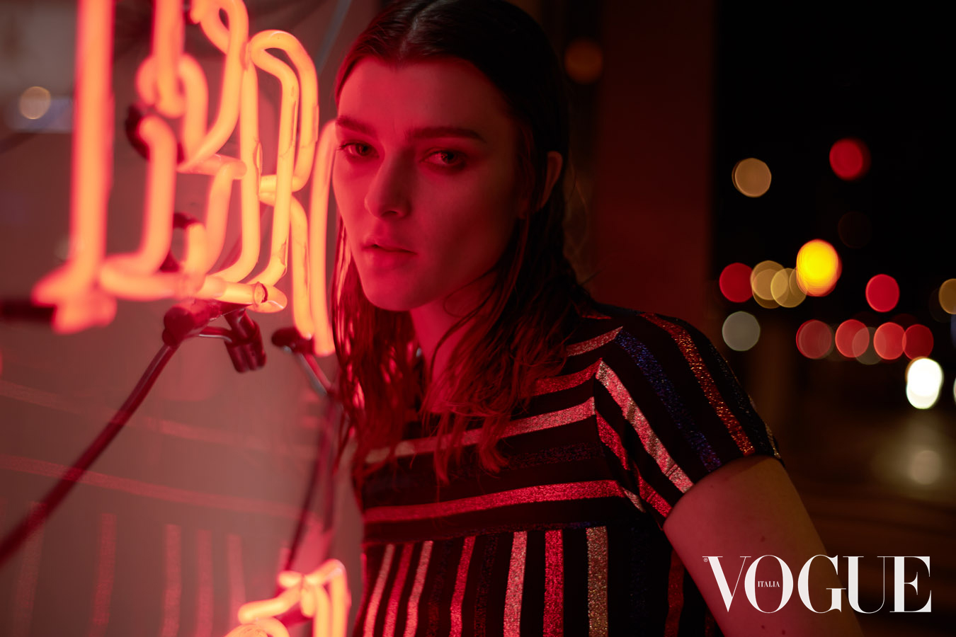 Vogue Italia - It's hard to be ashamed in the city - Styling: Christiane Graf - Hair/MakeUp: Spiri Fountoglou - Model:  Zen Sevastyanova