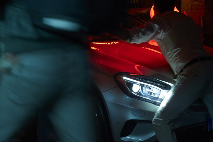Client: Mercedes-Benz - Agency: Jung von Matt - AD: Justine Boltzek - Postproduction: The Scope