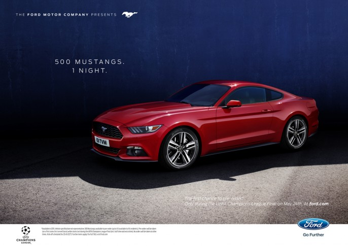 Ford Mustang - Agency: Blue Hive - ECD: Karin Onsager-Birch - CD: Steve Clarke - Senior AD: Vangelis Tolias - Creative Service Lead: Mark Doyle - Account Director: Ina Foelster