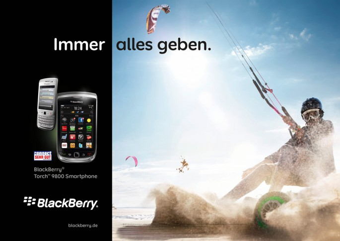 Blackberry   -    Agentur: Weis Communications   -    CD: Tonguç Baykurt