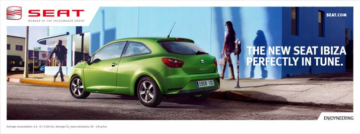 Seat Ibiza Campaign - Agency: Atletico International, AD: Paolo Furlan